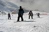 Winter sports in Cerro Catedral, Bariloche, Province of Rio Negro in Patagonia. Patagonia, Argentina, September, 2005. (Australfoto/Horacio Paone)