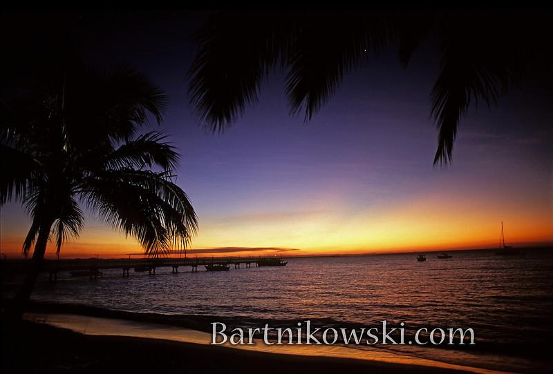 Barra Grande, Sunset in Brazil
