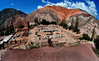 Village of Purmamarca and Cerro de Siete Colores (Hill of Seven Colors), Quebrada de Humahuaca, Jujuy, Argentina, Feb., 2007. ((Austral Foto/Horacio Paone))