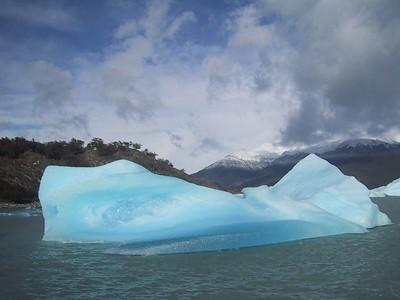 Glaciers Upsala, Spagazzini, Onelli, and Lake Onelli, Patagonia, Argentina, March 28, 2005