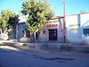 <h3>Businesses on the main street of Rodeo.  Time: 8:30 a.m.</h3>