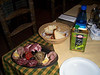 <h3>The appetizer plate from the meal at Potrerillos.</h3>