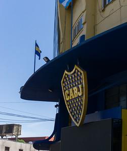 Boca Junior soccer stadium