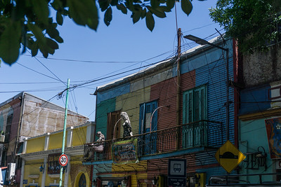On the streets of La Boca