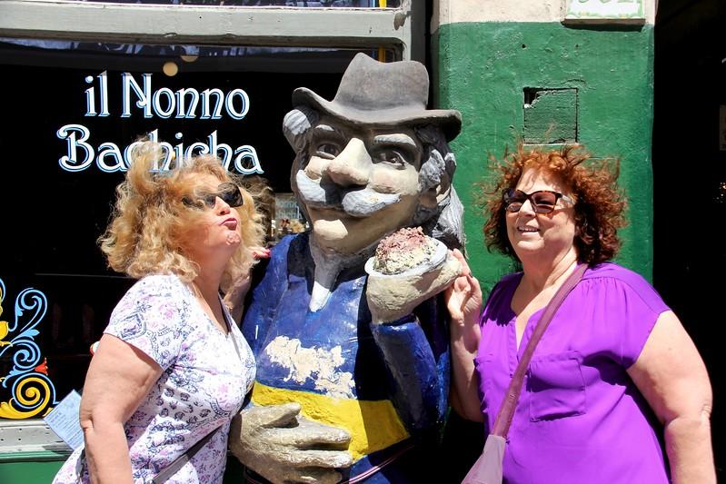 Gigi, Jeri and Friend, Buenos Aires, Argentina