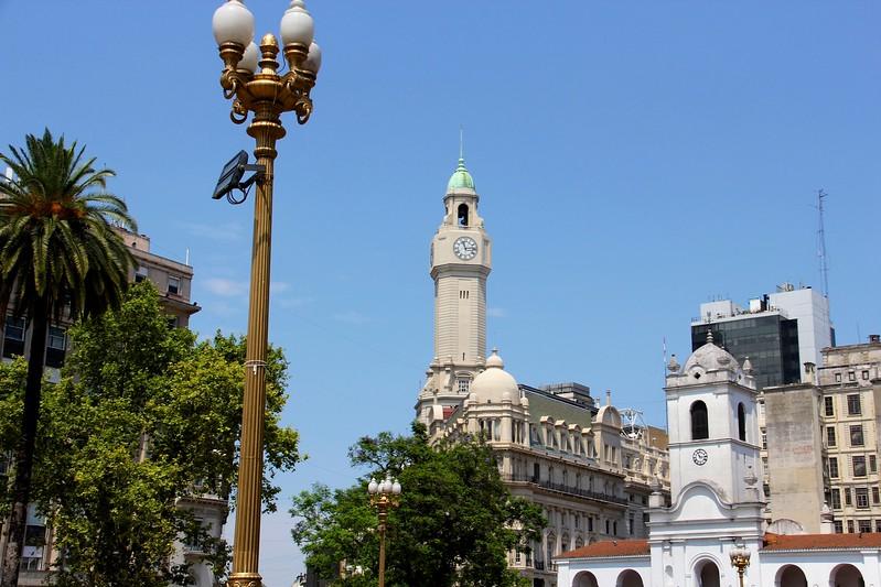 Plaza Mayor, Buenos Aires