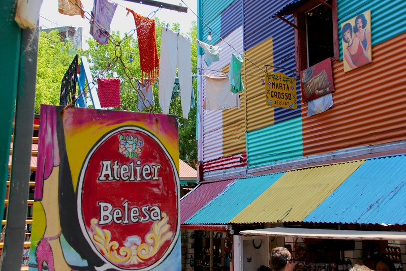 La Boca District, Buenos Aires