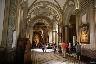 Inside the Metropolitan Cathederal