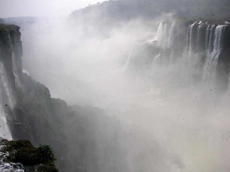 The Devil's Throat, Iguazu's largest cataract.