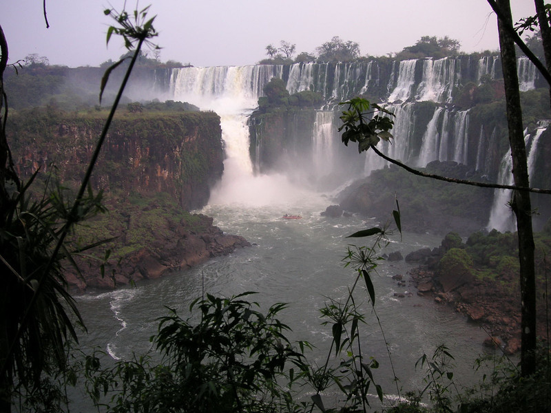 Viewed from Argentine side.