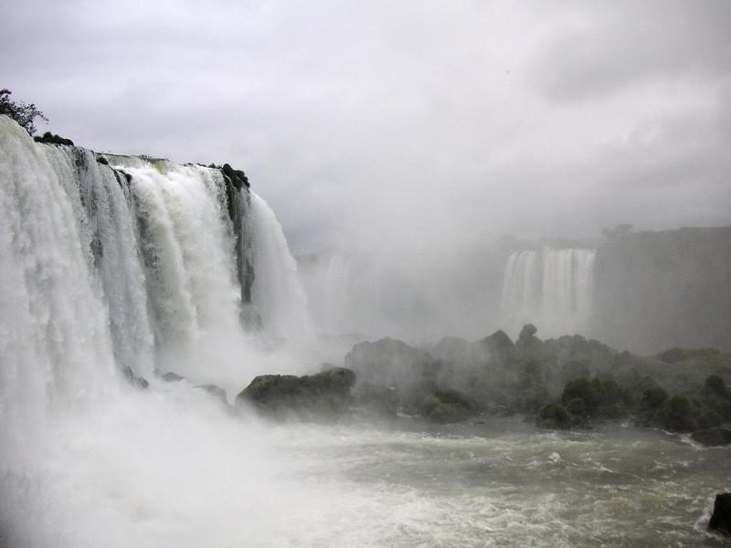 Viewed from Brazilian side.