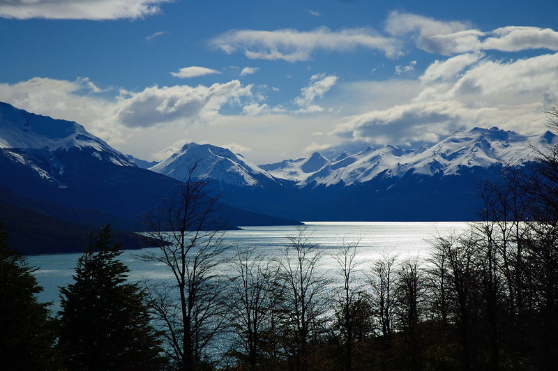Looking East over Lago Argentino.
