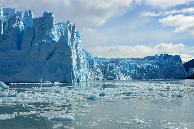Perito Moreno Glacier - northern end.