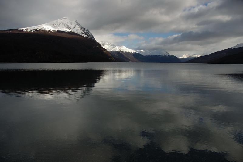 Lake Roca in Tierra del Fuego National Park