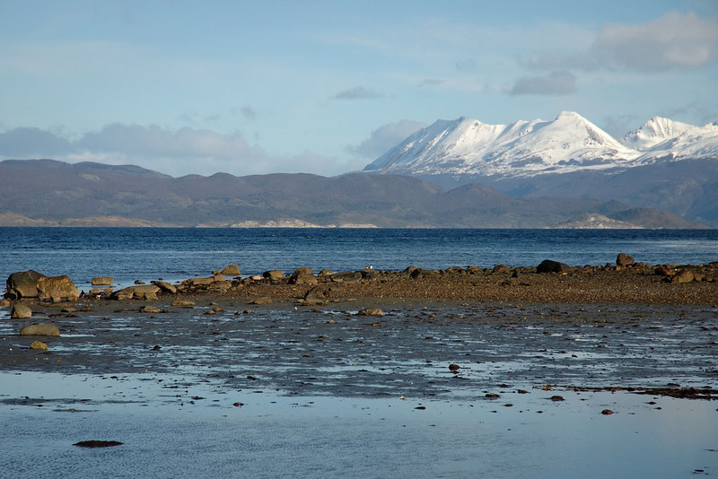 Looking across to the Beagle Channel