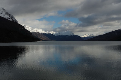 Lake Roca in Tierra del Fuego National Park