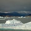Icebergs in Lago Argentino.