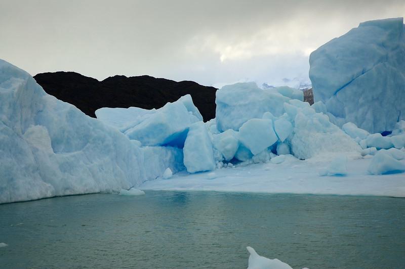 Fragmented Iceberg in Lago Argentino.