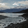 River flowing into Lago Argentino.
