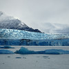 Closer view of Upsala glacier.