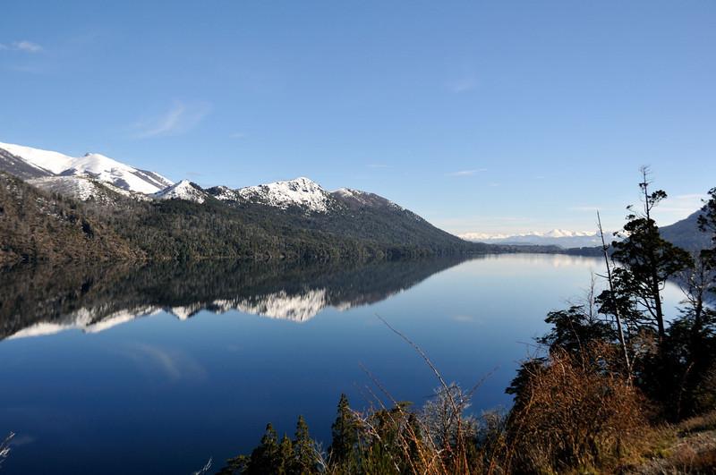 Lago Gutierrez, just west of Bariloche, looking north.