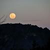 Full moon at Llao Llao.