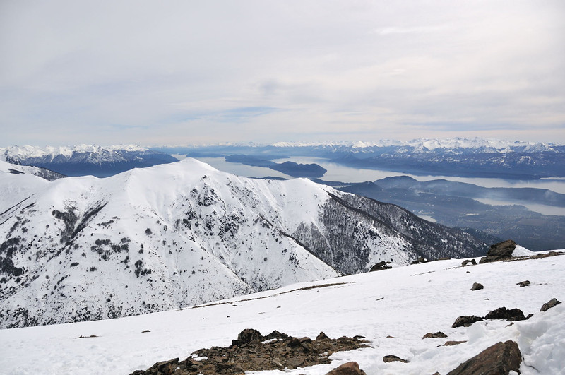 Atop 'Catedral' at 2,000 metres above sea level. To the west of Bariloche, Argentina.