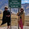 Piedra del Molino, at the summit of the Cachipampa road, Salta, Argentina. (In fact, 3380m by GPS!)