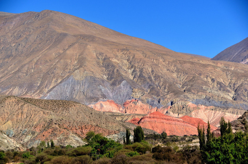 Geological magic on route 9 heading for Purmamarca, Salta, Argentina.