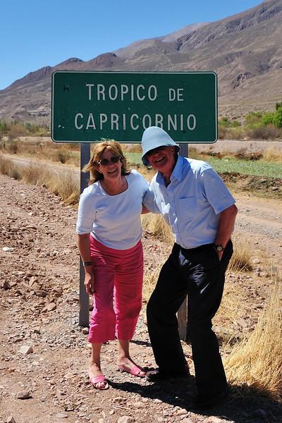 Upon the Tropic of Capricorn!  (Salta, Argentina).