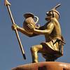Inca statue in San Carlos.