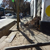 A typical ankle breaking sidewalk in Mendoza.