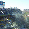Awesome confetti storm as Boca came onto the field