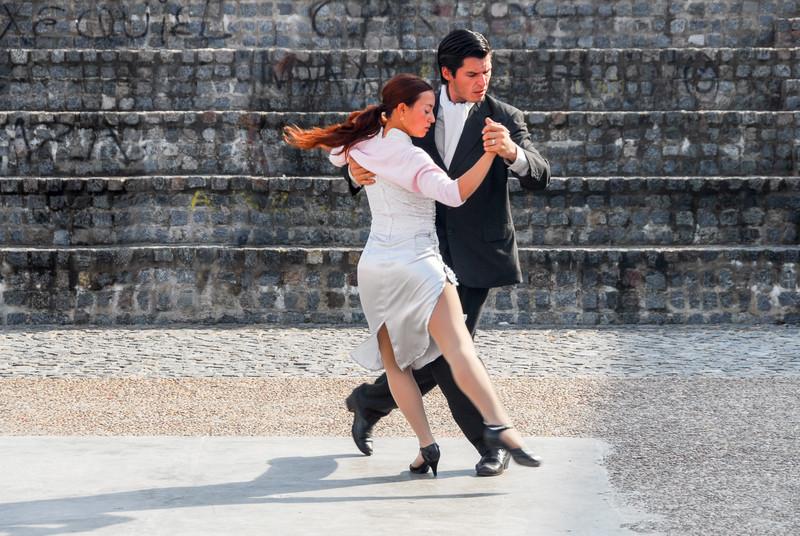 La Boca - Tango Dancers