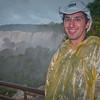 Aaron on the upper trail at Iguazu Falls.