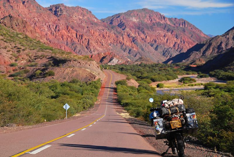 Ruta 68,  Quebrada de Cafayate