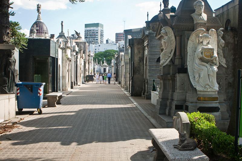 Recoleta Cementery.