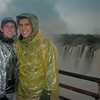 Sasha and I at Devil's Throat in Iguazu Falls. My camera got too wet from all the rain and shut off. I missed the photo ops at Devil's Throat, but was so relieved when it turned back on the next day. Photo courtesy of Aaron Meyers.