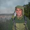 Me on the upper trail at Iguazu Falls.