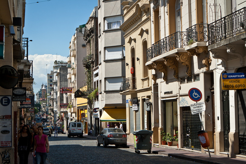 Las Defensas street in San Telmo.