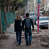 Walking the streets of Buenos Aires.