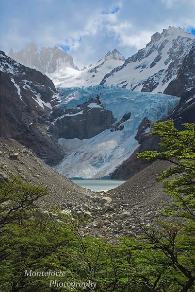 Piedras Blancas Glacier, Piedras Blancas National Park, Argentina