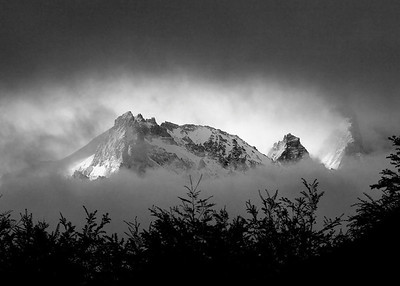 View from camp, El Chalten, Argentina