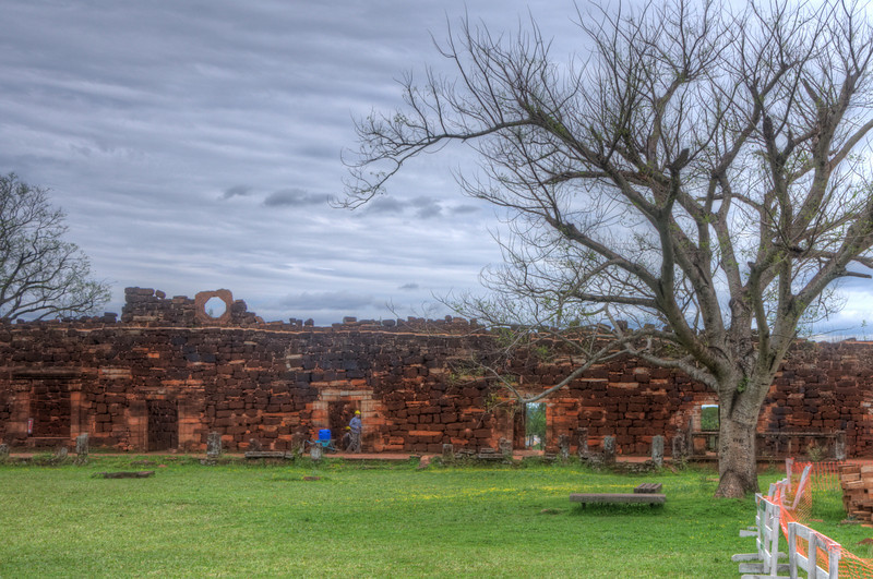 HDR photo at the San Ignacio missions. They were doing a lot of restoration while we were there.