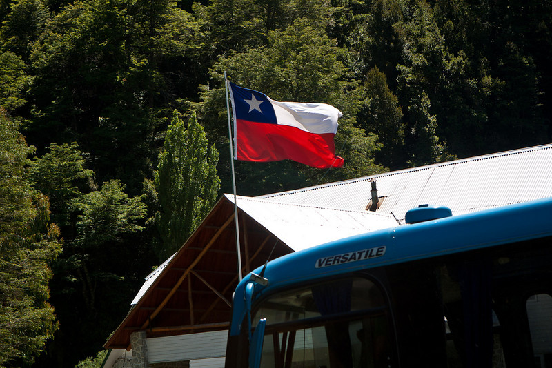 Chilean territory. Chilean flag looks a lot like The Lone Star State's.