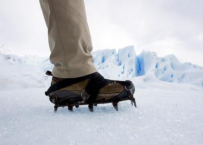 Crampon hiking on Perito Moreno Glacier El Calafate, Argentina