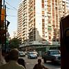 5pm street scene. Recoleta.