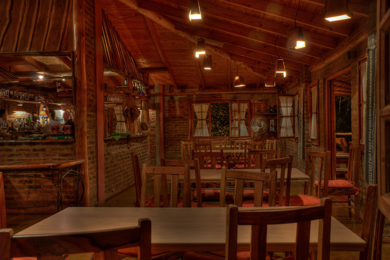 There was a bar where we  grabbed some food hung out in during the evenings at Lost Troncos.