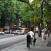 Avenida Santa Fe, Recoleta district, Buenos Aires. <br /> My first day in Buenos Aires I took a long walk down Aveida Santa Fe.
