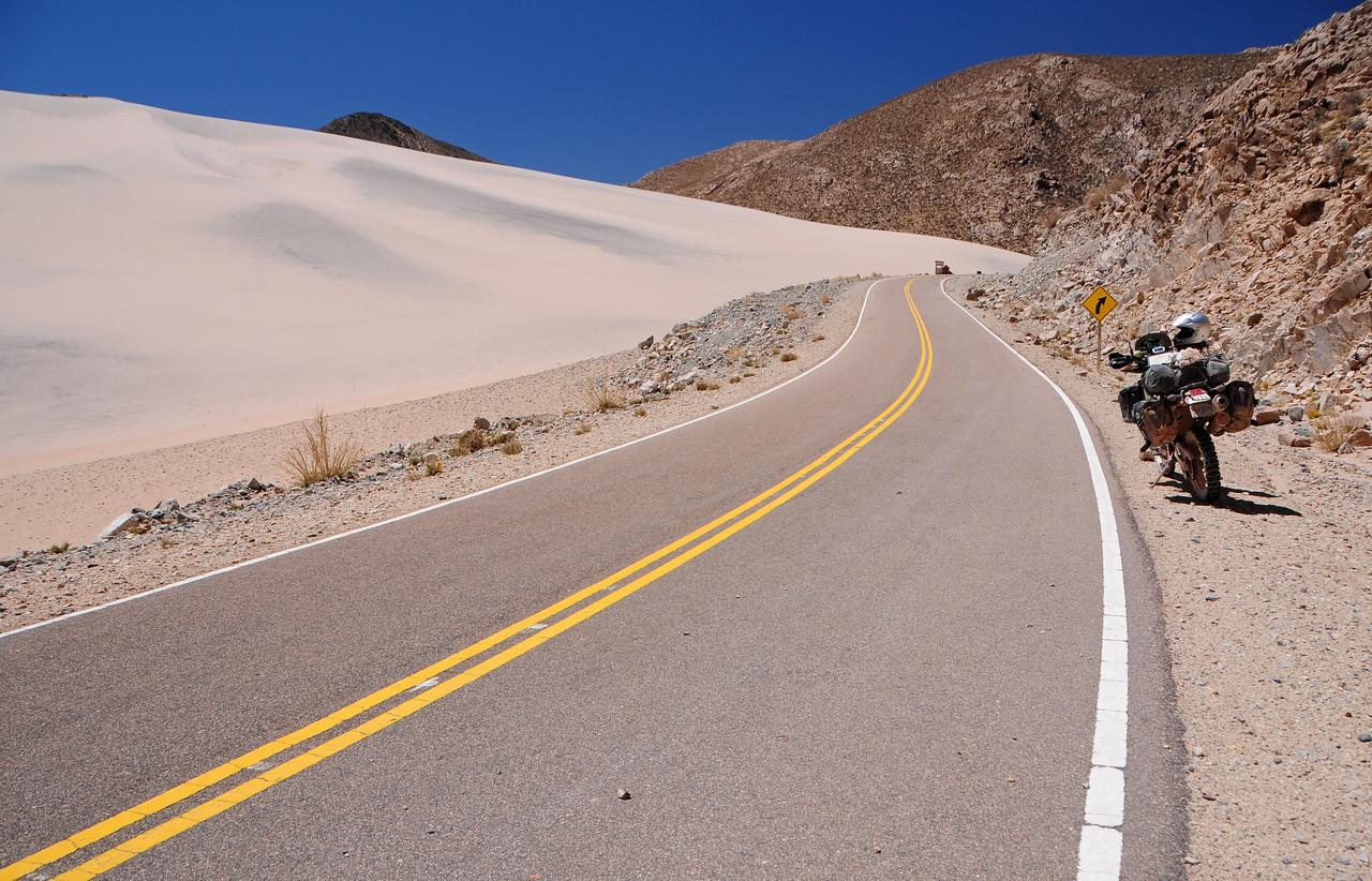 El Peñon - Belen road